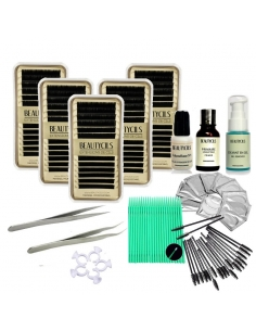 Kit lash Extension Cil te Cil Beginner
