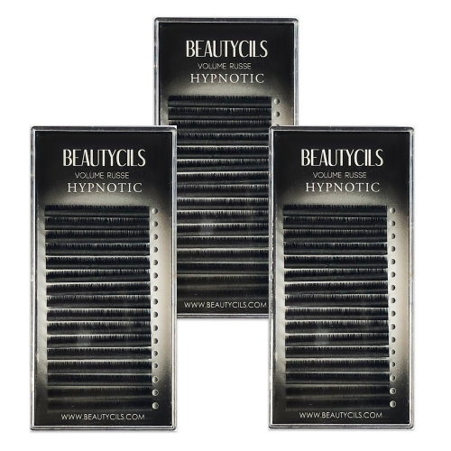 0.07 MM Batch Lashes Volume Russian