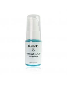 Solvent gel for eyelash...