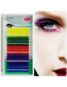 Eyelash silk colorful Deco